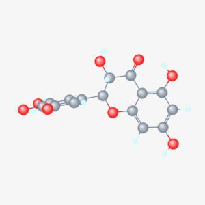 Dihydromyricetin 3D conformer