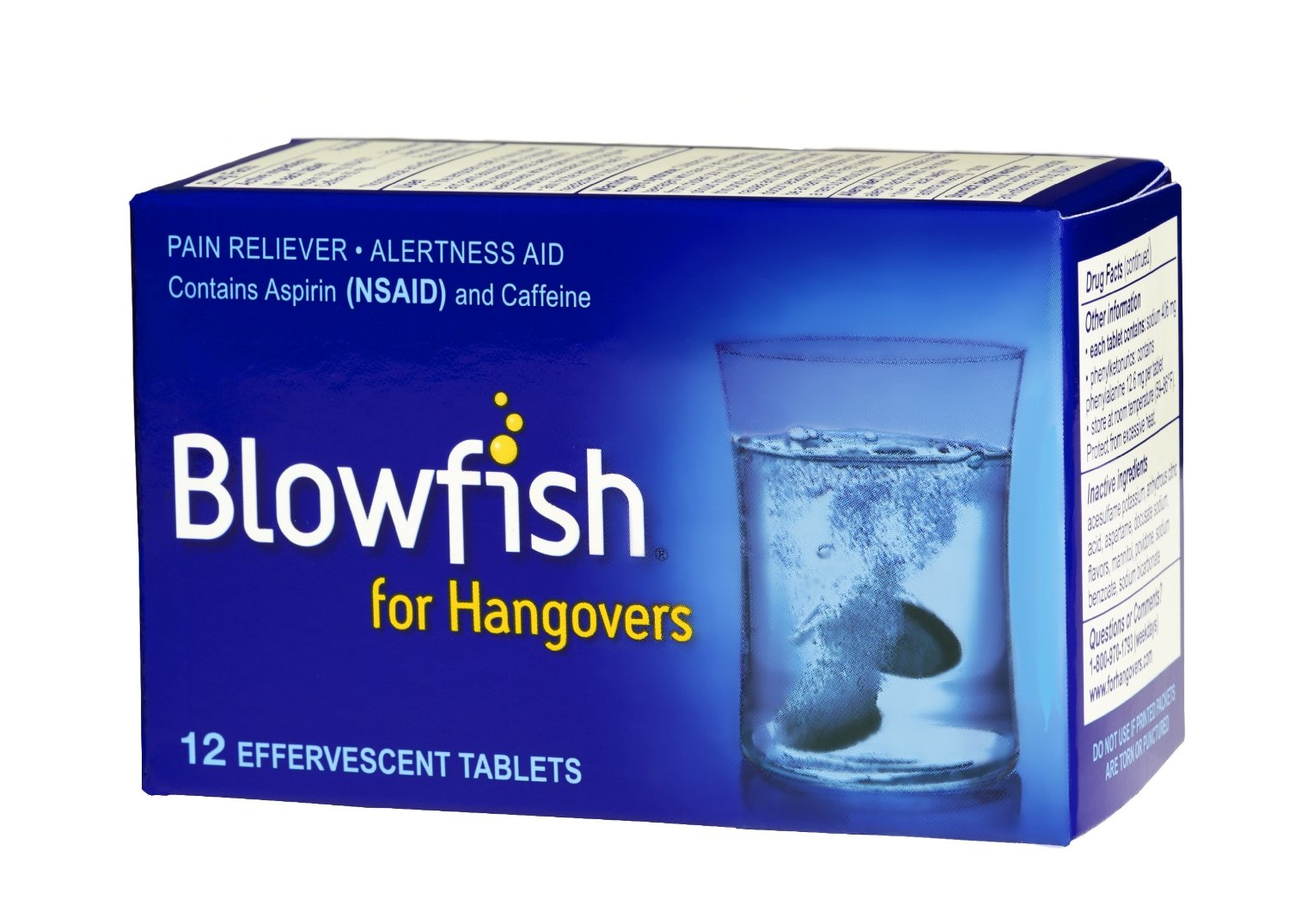 Blowfish Review: Is This FDA Approved Fizzy Tablet A Legit Hangover Cure?