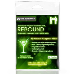 Rebound Patch Review – Does it help reduce hangover symptoms?