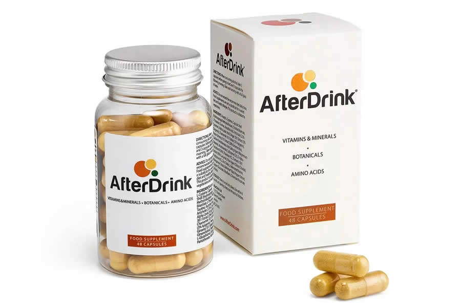 AfterDrink hangover pills