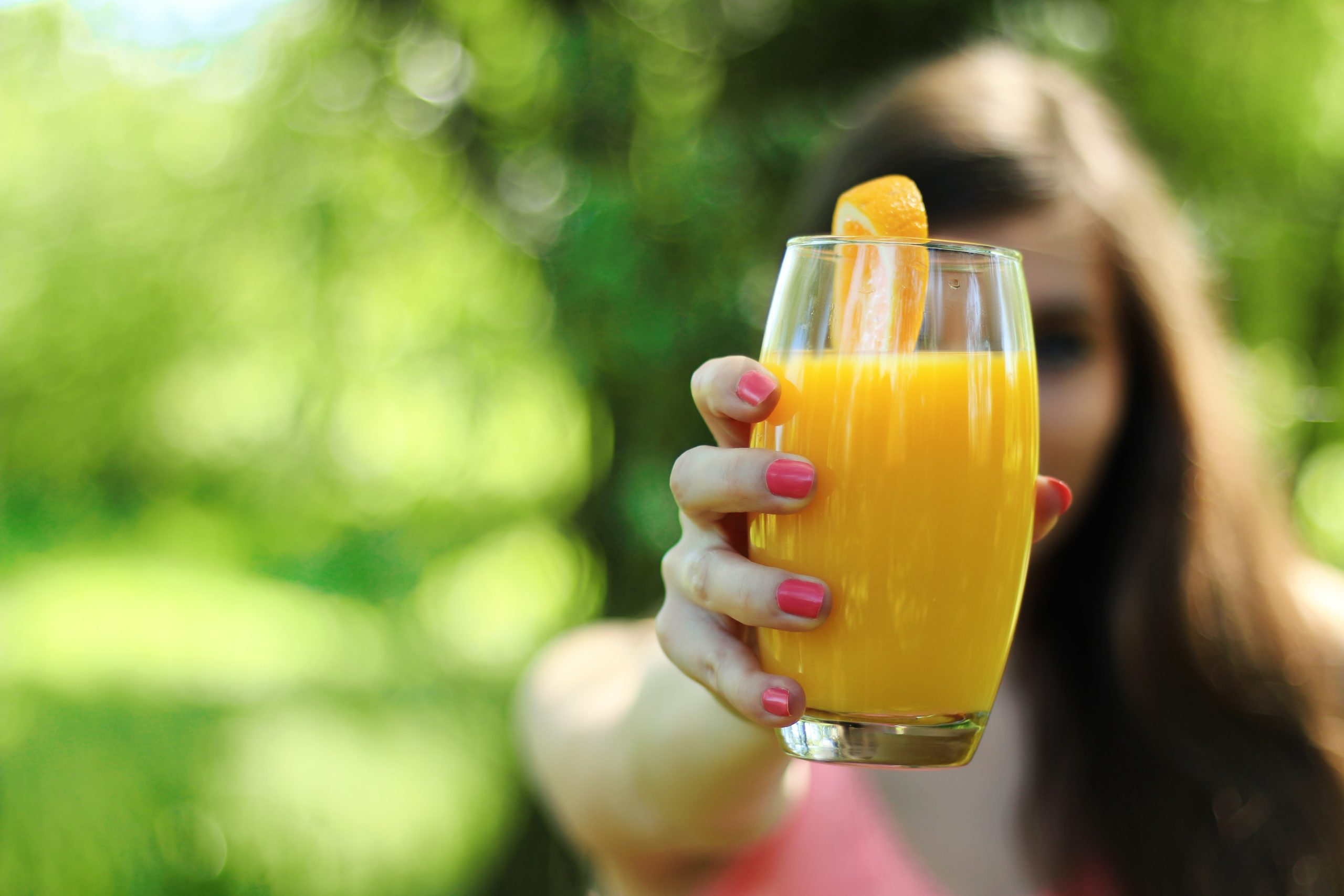 orange juice for hangover