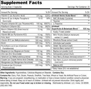 drinkwel ingredients