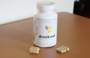 Drinkwel on the table