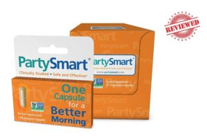 PartySmart Hangover Pill Review (By Himalaya Supplements)