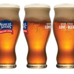 perfect pint glass sam adams
