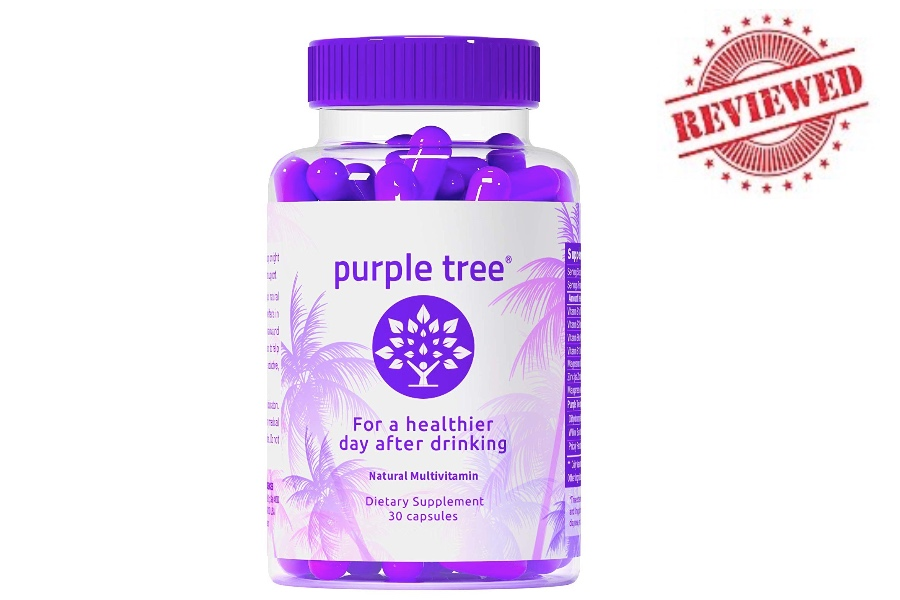 Purple Tree Hangover Cure Pills Review