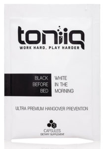 Toniiq Review: Does The Toniiq Ultra Premium Hangover Prevention Cure Work?